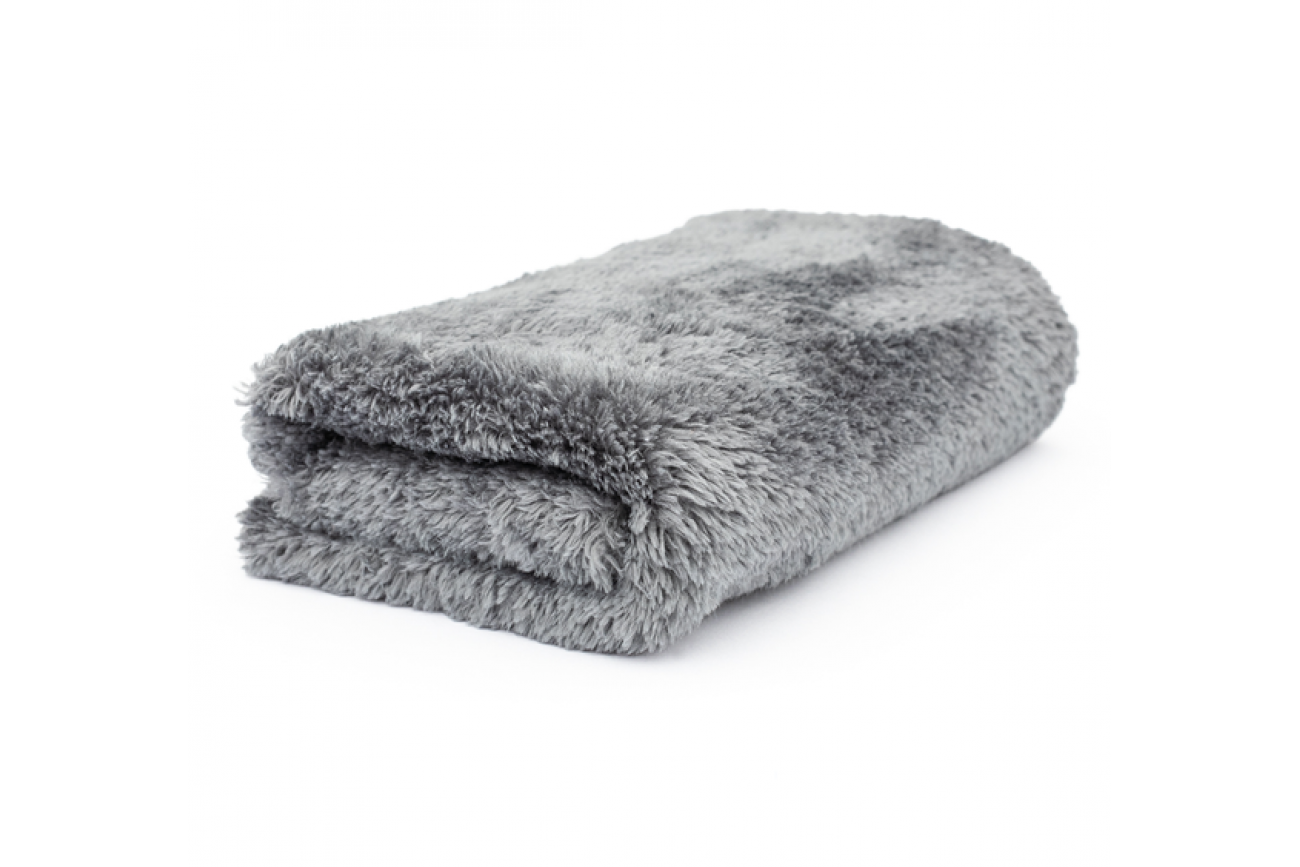 DEcare microfiber towel 450gsm - grey