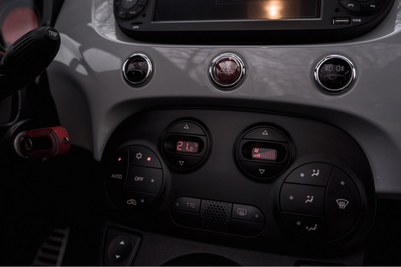 Abarth 500c 1.4turbo automaat *1jaar garantie